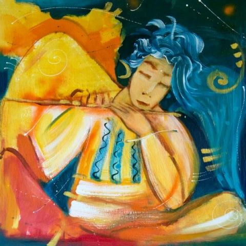 quadro flute angel