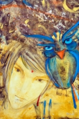 tela o encanto da coruja